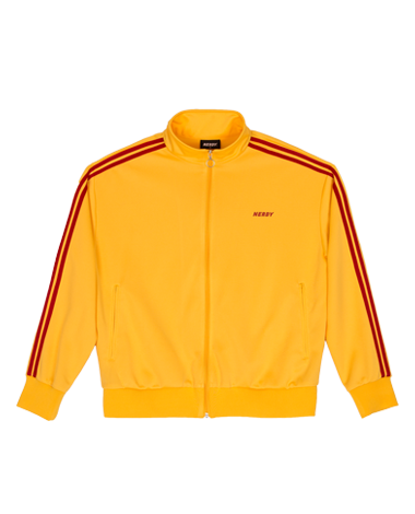 NY Track Top Yellow / Red