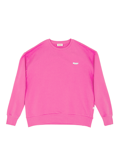 NY Sweat Shirt Pink