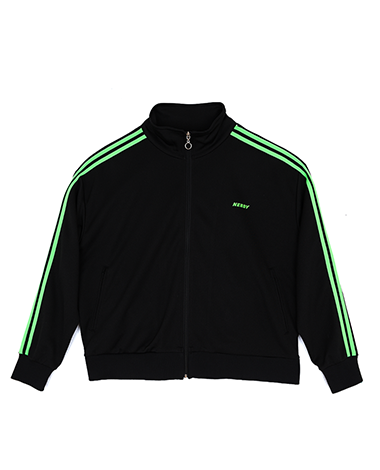 NY Track Top Black / Green