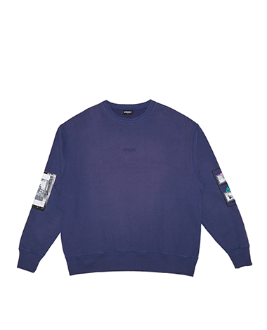 Washing Sweatshirts Navy