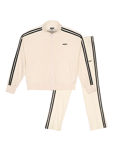 Velour Track SET White