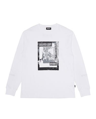 Hash long sleeves White