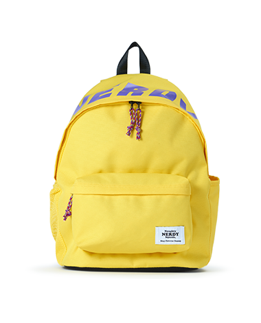 Basic Logo Backpack_Yellow