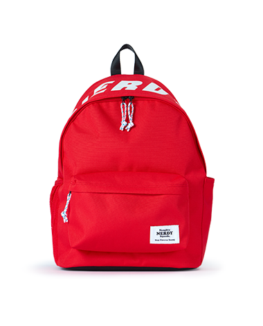 Basic Logo Backpack_Red