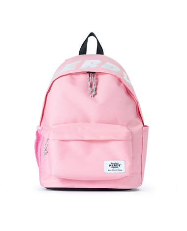 Basic Logo Backpack_Pink