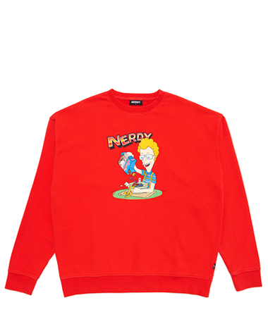 Cereal Sweatshirt Red