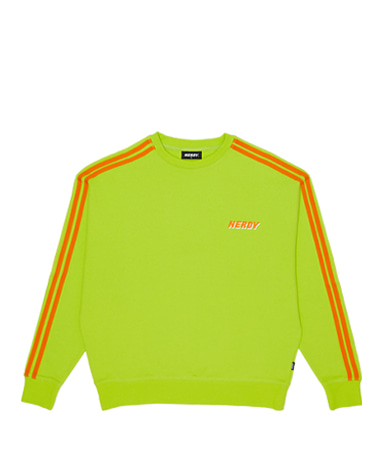 Track Sweatshirt lime