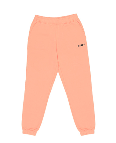 Basic Logo Sweatpants Light Orange
