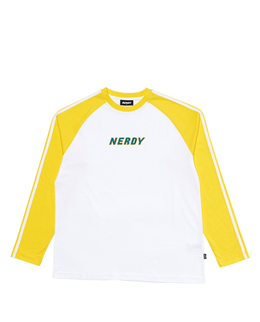 Raglan Long Sleeve T-shirt Yellow