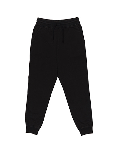 Washed Jogger Pants Black