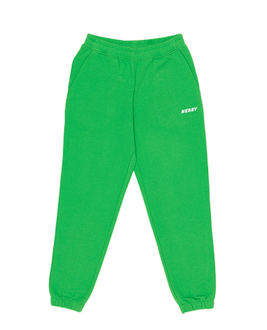 Basic Logo Sweatpants Green