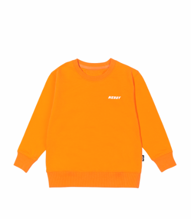 Kids' NY Sweatshirt Orange