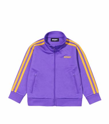 Kids' NY Track Top Purple