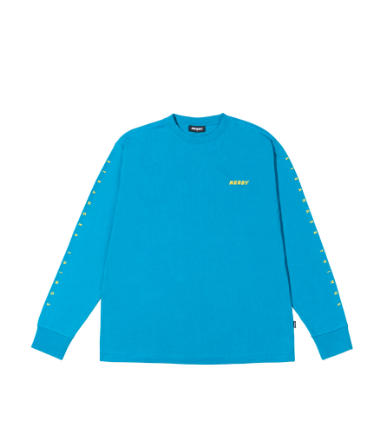 Balloon Long Sleeve T-shirt Turquoise