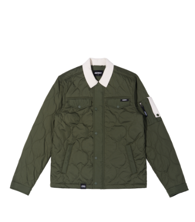 Quilted Jacket Khaki