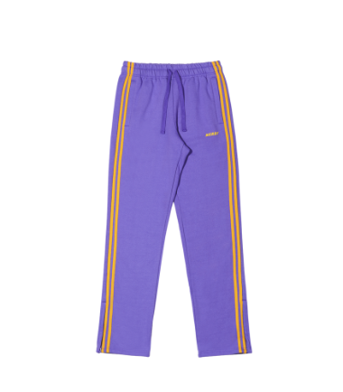 Brushed NY Sweatpants Purple