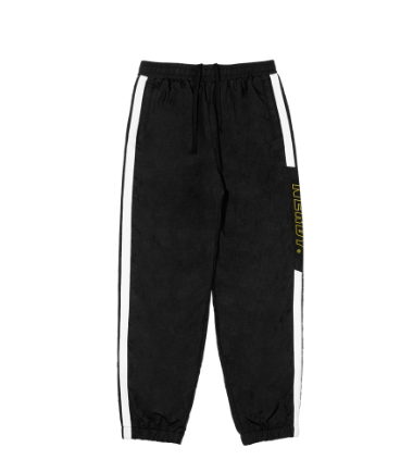 Side Block Track Pants Black